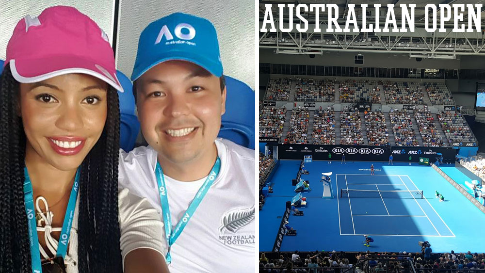 Thanks to my work, I got to check out the Australian Open for the first time this year!