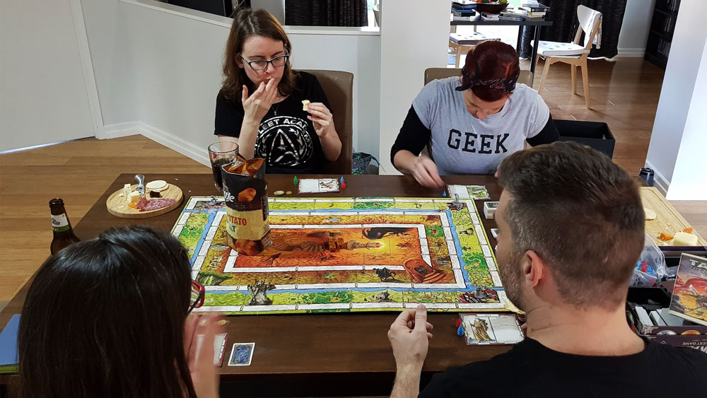 Board games are still one of our favourite ways to unwind. We kept up our monthly Table Top sessions with Jules and Jadon throughout the year.