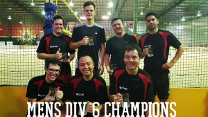 Twice this year the Electrics finished top of Division Six in our Thursday night league!