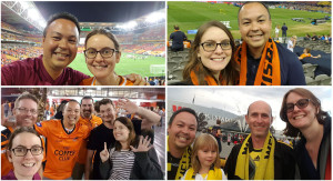 We went to dozens of football games this year at venues big and small.  Highlights this year included away trips to Etihad Stadium in Melbourne (Brisbane Roar vs Melbourne Victory) and Westpac Stadium (Wellington Phoenix vs Melbourne City).  My favourite game to watch live this year was seeing Brisbane Roar get revenge on Western Sydney Wanderers by knocking them out in the finals with a 5-4 win on penalties.