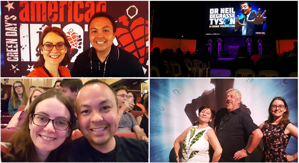 We were lucky enough to see lots of great shows in 2017 including Green Day's American Idiot, The Book of Mormon, Tim Minchin's Matilda and a lecture from Neil deGrasse Tyson.