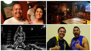I went to a couple of wrestling shows this year.  It was really cool to meet a couple of my favourite wrestlers - Colt Cabana and Tess Blanchard.