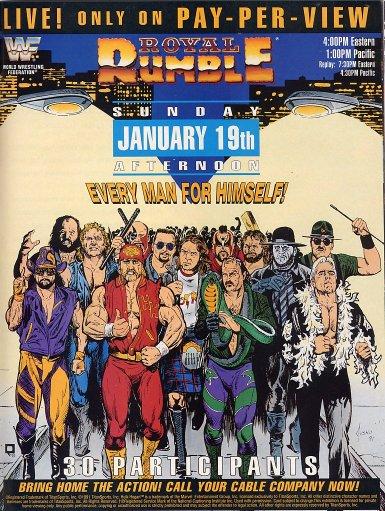Royal Rumble Stat Pack 2013 Royal_Rumble_1992_Poster