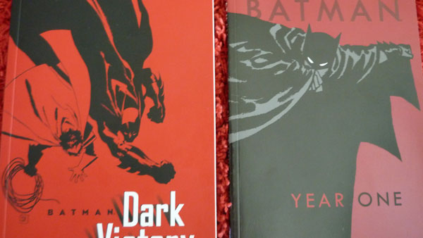 Batman Year One and Batman Dark Victory - Dark Victory is a follow up to the excellent Long Halloween and is another murder mystery. I don't really know much about Year One except that people really seem to rave about it