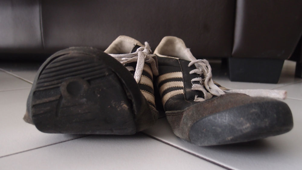 """photo essay on shoes Choreography of words search this site taken from the photo essay """"a flood of toxic sludge that gives the audience an opportunity to step in her shoes."""