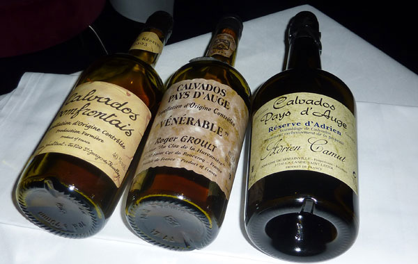 Digestif - a selection of calvados