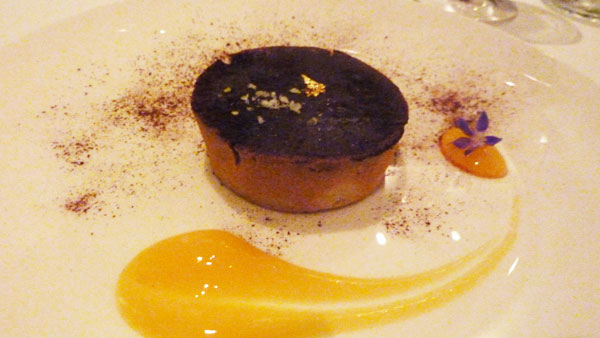 Chocolate tart - super rich and sugary. Glorious.