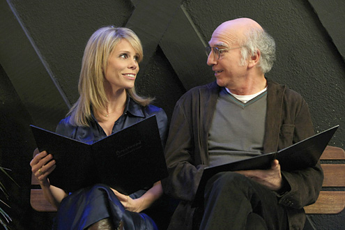 Curb Your Enthusiasm Season Seven:  Larry is neurotic and gets stuck in a socially awkward situation!