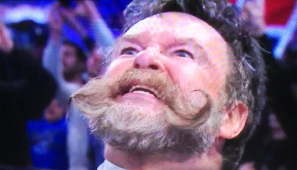 Dutch Mantell's moustache is a thing of beauty.  He cut a pretty good tea party promo before the match too.