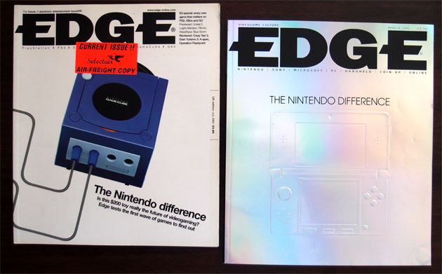 Edge #99 [July 2001] and Edge #225 [March 2011] explore the same concept of Nintendo's unconventional approach to game design