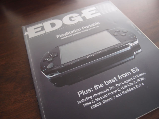Edge #138 [July 2004] - I remember being in absolute awe of how polished the PSP looked when it was first unveiled.  Also, take a look at the games that were released in 2004.  Truly one of the greatest years for gaming.