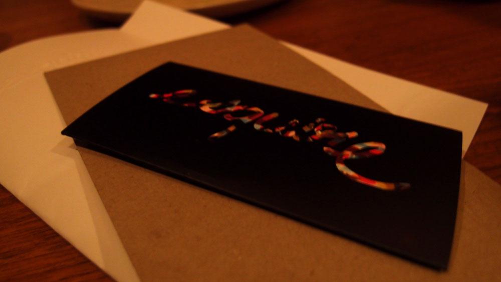 Esquire chocolate bar