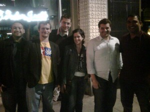 E3 Middle East Crew -  spot the PR reps!