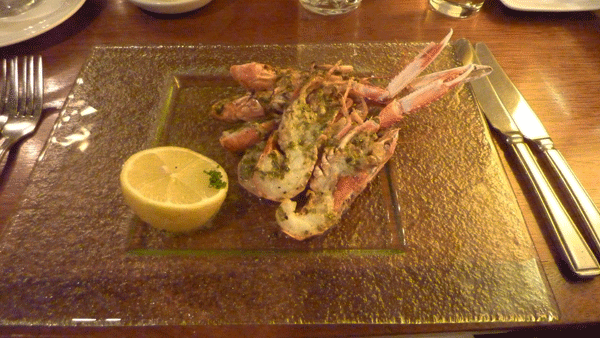 West Coast Langoustines with Garlic Butter