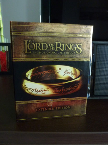 Lord of the Rings: Extended Edition on Blu Ray | The FAT Website