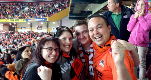 Jen, Melissa, Luke and I.  The four of us were season ticket holders and experienced the season together.