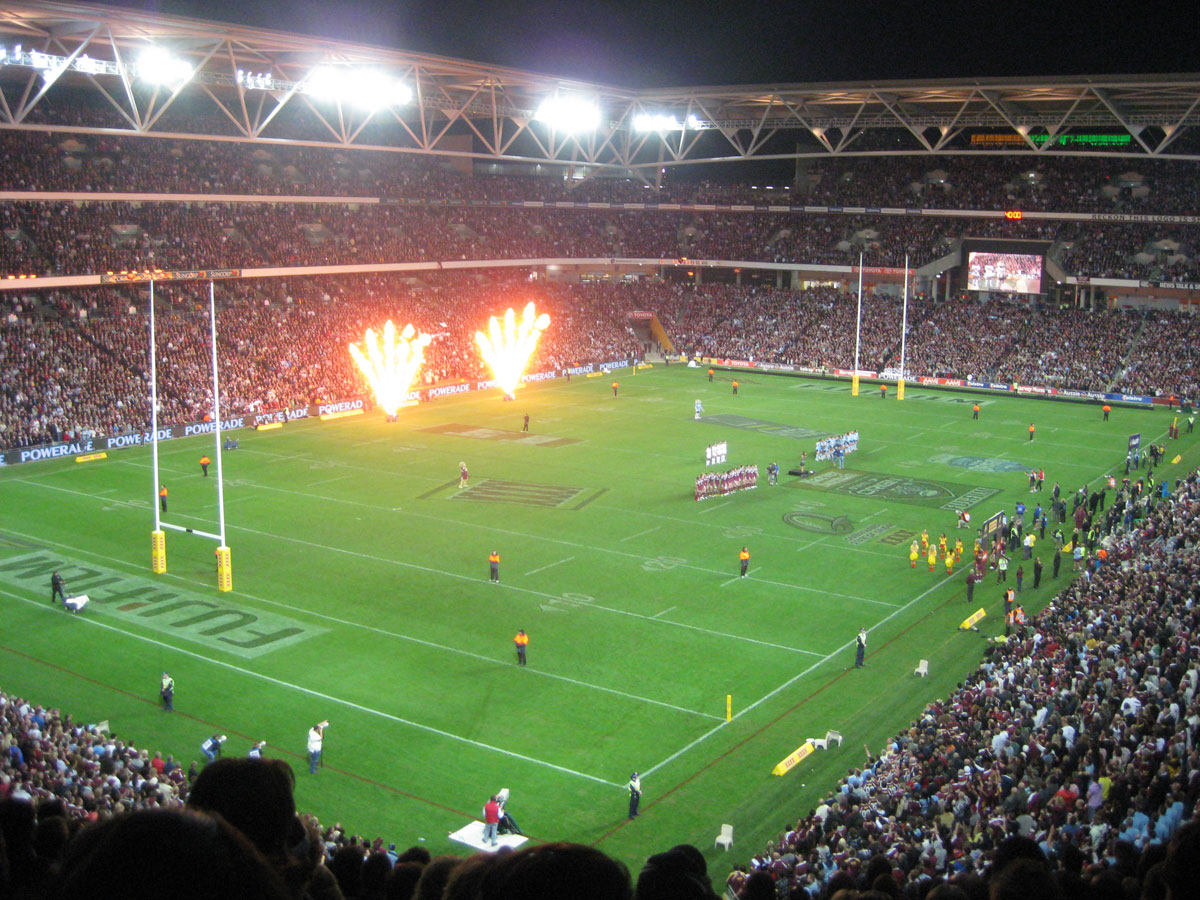 State of Origin 2009:  A photo of Booker T's entrance