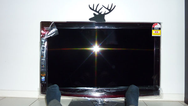 A completely redundant tv
