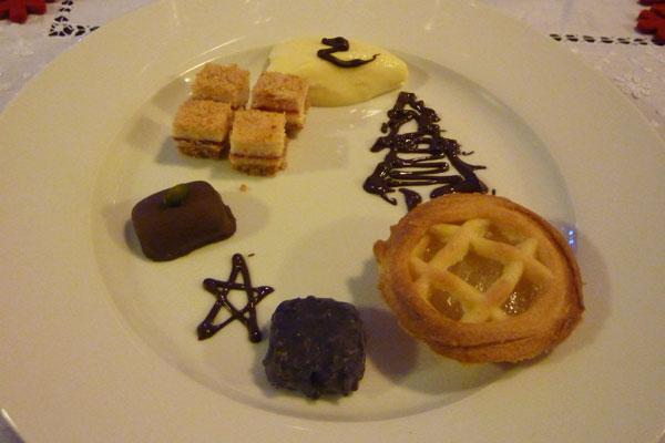 Jen's delicious dessert platter