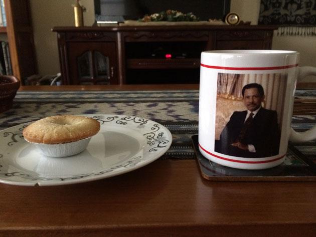 Tea, Mince pie, Bolkiah