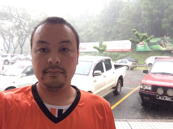 Rainy Selfie