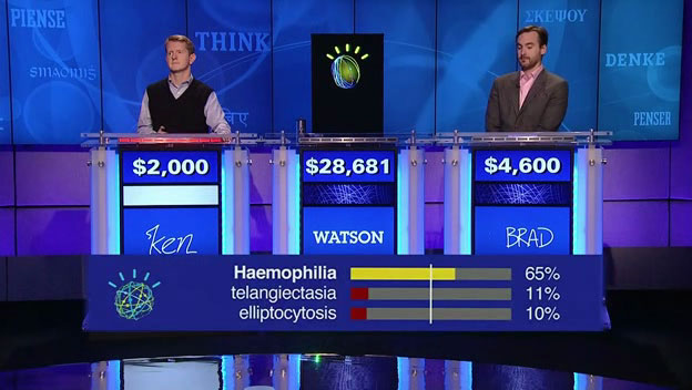 i normally never watch the game show jeopardy but i was drawn in by their recent ibm watson series you might recall about ten years ago when ibm created a